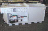 Heated Etch Tank. (Rear view).